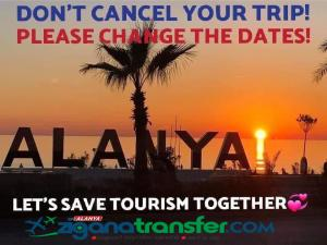 Don't Cancel Your Trip !!!!   Please change The Dates !!!!